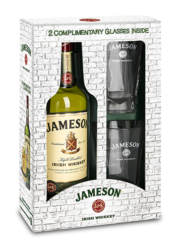 JAMESON Tall Glass Pack